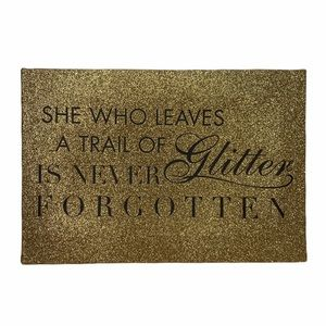 Other - Gold Glitter Canvas